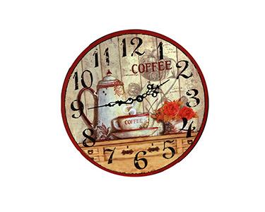 Relógio Decorativo de Parede Coffee 34