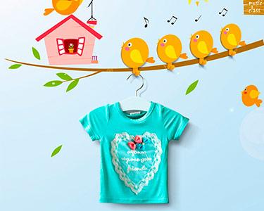 Vinil Decorativo com 4 Cabides Happy Birds Music