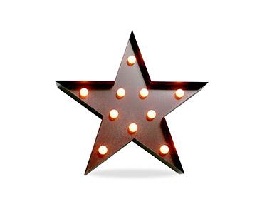 Iluminação Metálica Decorativa E-Star