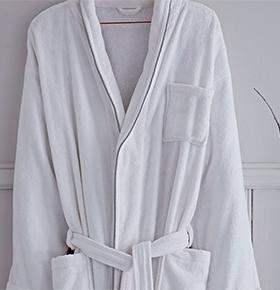 Robe de Algodão Catherine Lansfield® Soft | Branco