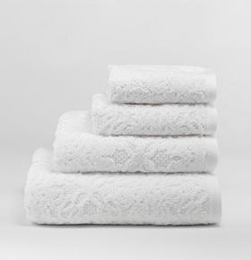 Conjunto 3 Toalhas Catherine Lansfield® Caroline | Branco