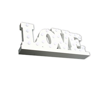 Letras Luminosas Decorativas Love