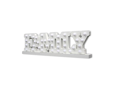 Letras Luminosas Decorativas Family