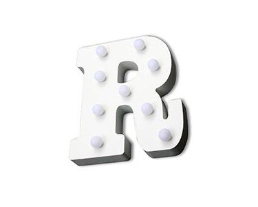 Letra Luminosa Decorativa | Letra R