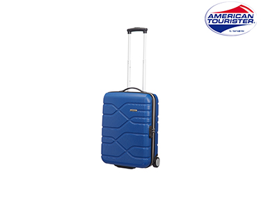 Mala American Tourister® Houston City | Upright Cabine Size Azul