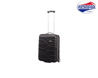 Mala American Tourister® Houston City | Upright Cabine Size Preto