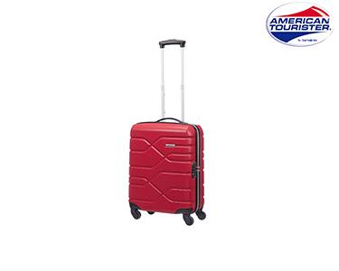 Mala American Tourister® Houston City | Spinner Cabine Size Vermelho