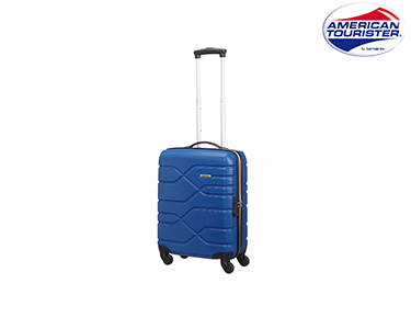 Mala American Tourister® Houston City | Spinner Cabine Size Azul