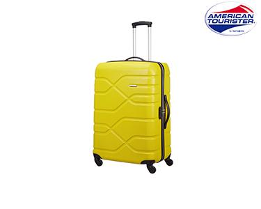 Mala American Tourister® Houston City | Spinner L Amarelo