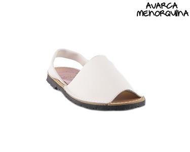 Sandálias Menorquinas para Criança   Branco