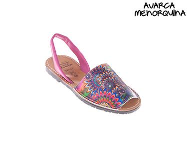 Sandálias Menorquinas | Flores