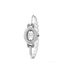 Relógio So Charm® com Cristais Swarovski® Prateado    MF293