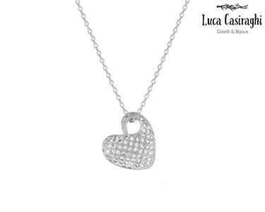 Colar c/ Cristais Swarovski Elements® Love | Escolha a Cor
