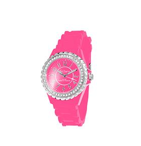 Relógio So Charm®  com Cristais Swarovski® Rosa |  MF247