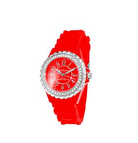 Relógio So Charm® com Cristais Swarovski® Vermelho    MF247