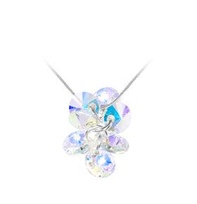 Colar So Charm® com Cristais Swarovski® | Azul