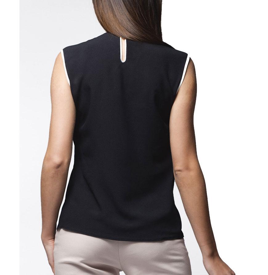 Blusa Awama® A24 | Preto e Branco