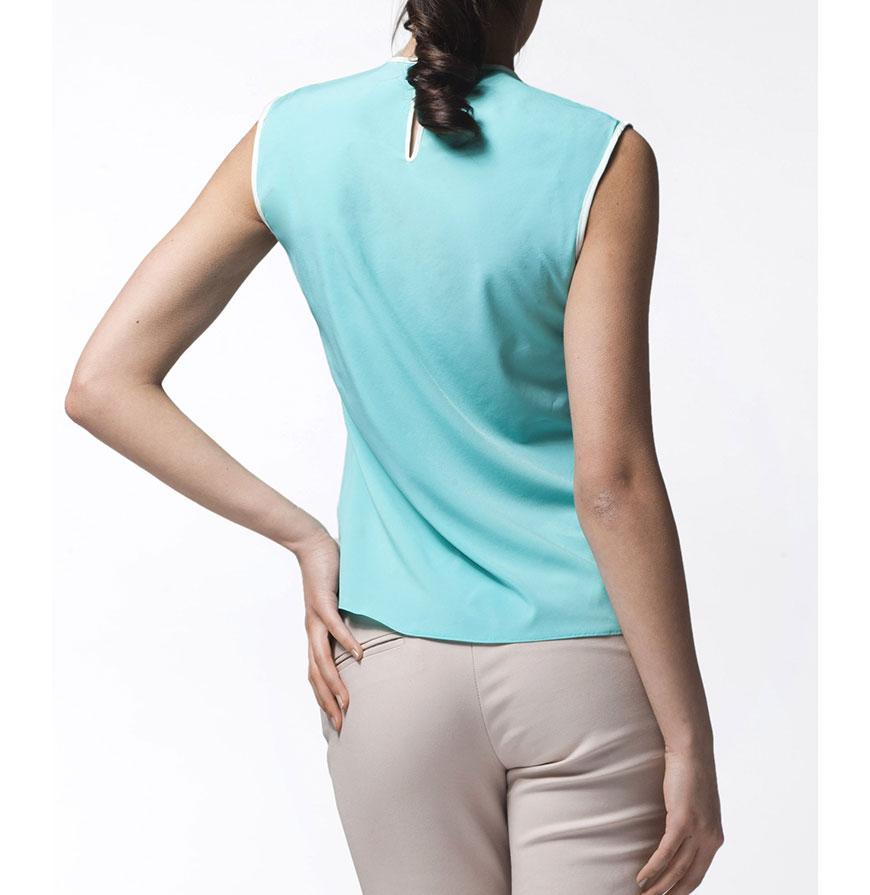 Blusa Awama® A24 | Verde e Branco