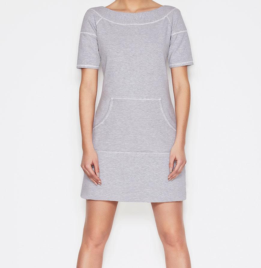Vestidos Awama® A57   Cinzento