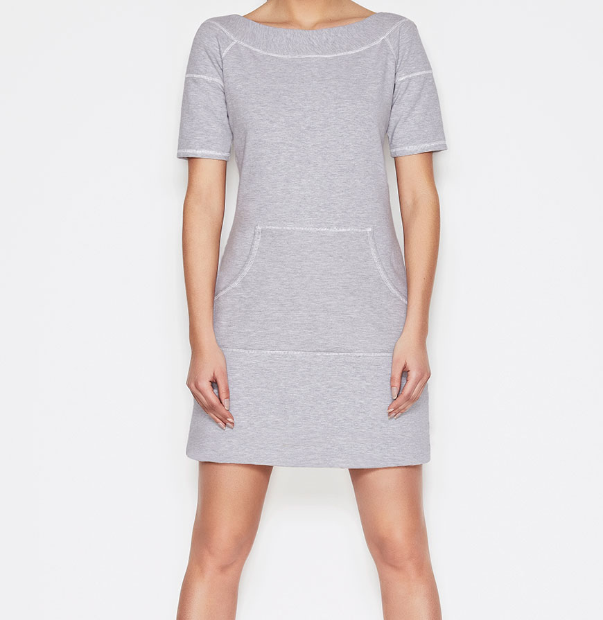 Vestidos Awama® A57 | Cinzento