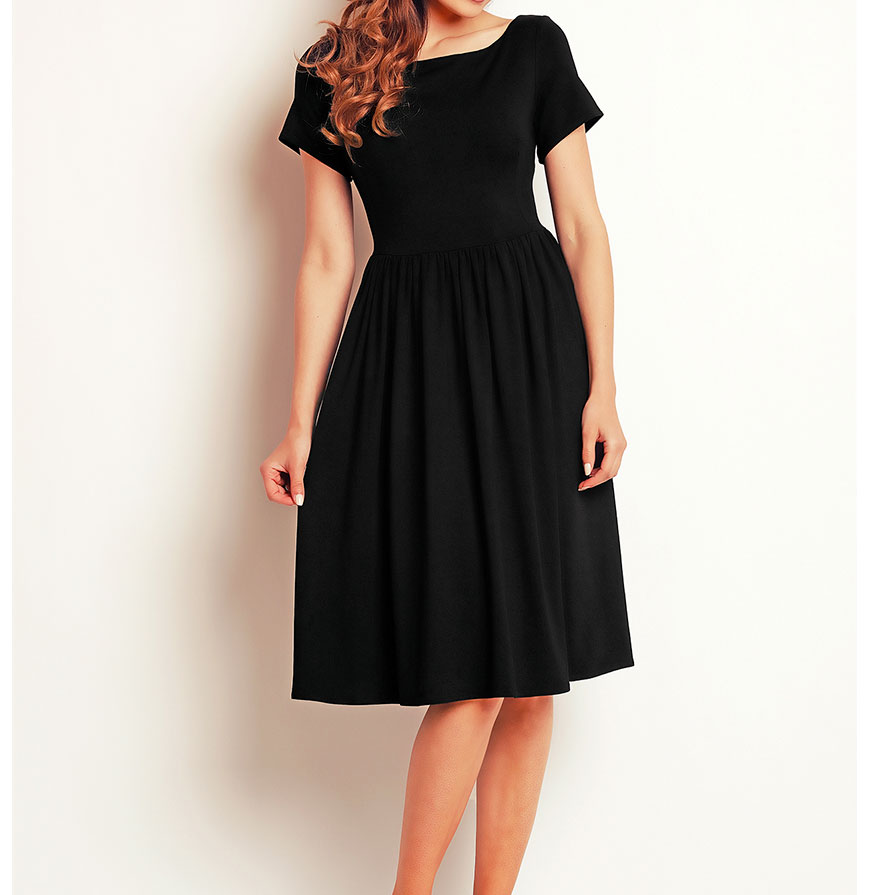 Vestido Awama® A141   Preto