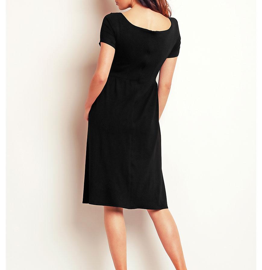 Vestido Awama® A141 | Preto