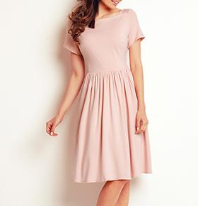 Vestidos Awama® A141 | Rosa