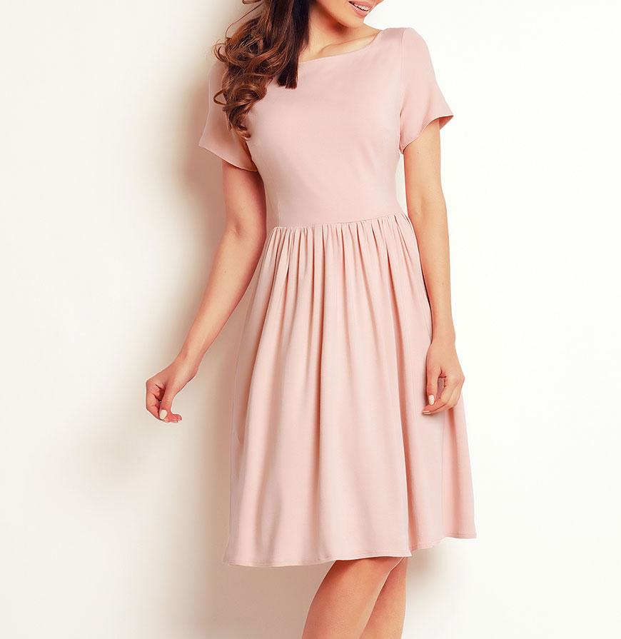 Vestidos Awama® A141   Rosa