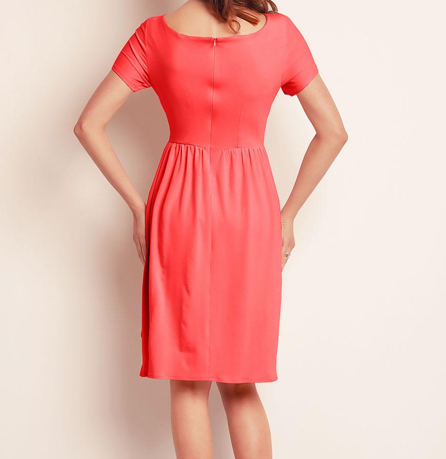 Vestidos Awama® A141 | Coral