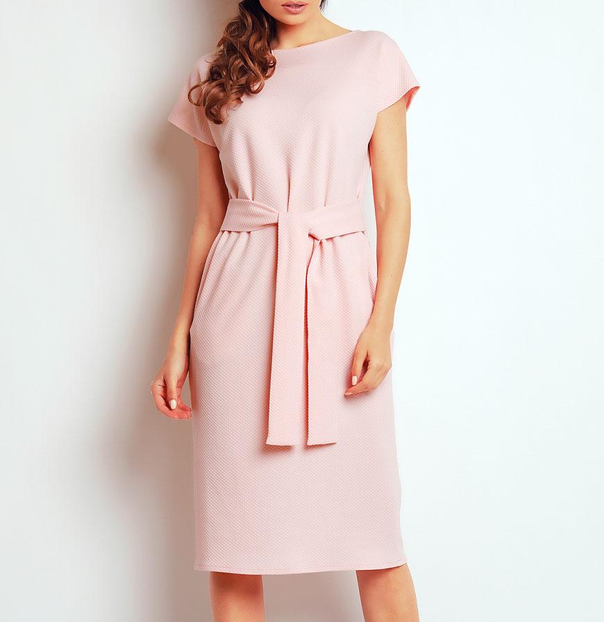 Vestidos Awama® A142   Rosa