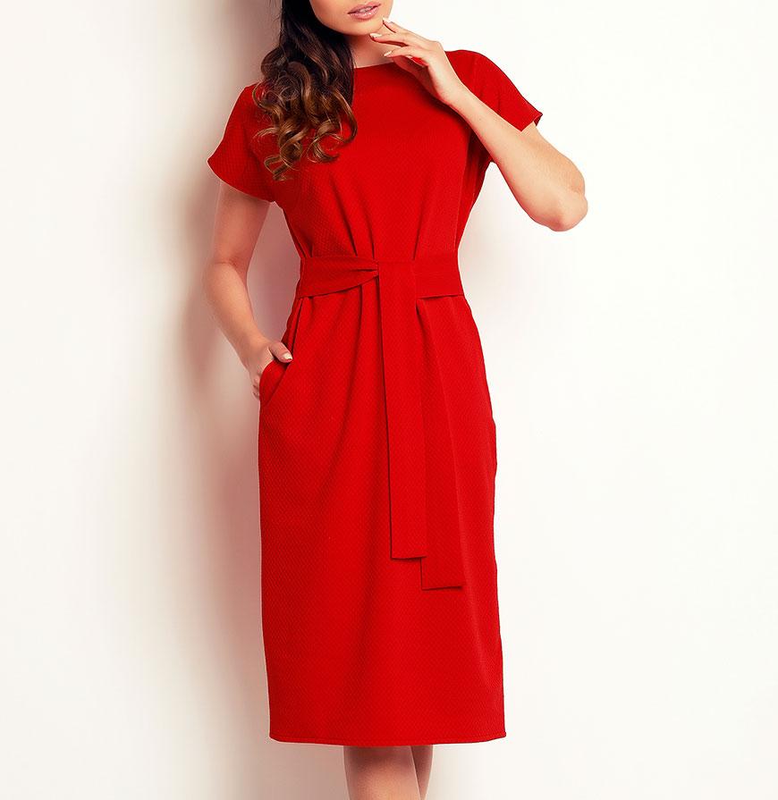 Vestidos Awama® A142 | Vermelho