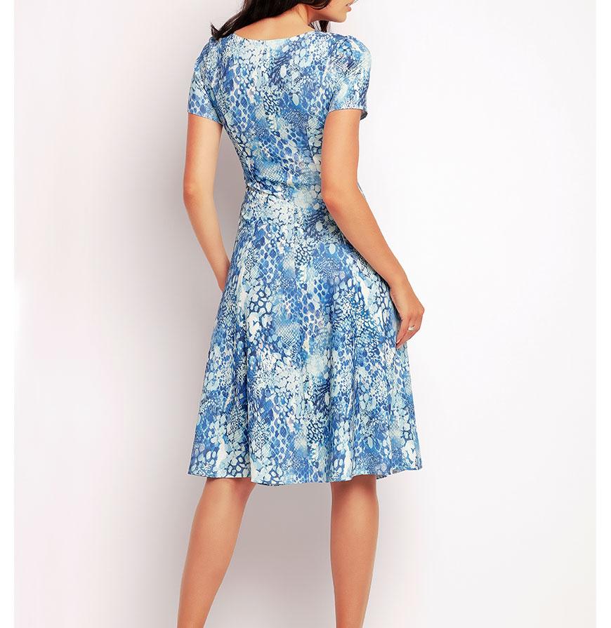 Vestidos Awama® A144   Azul