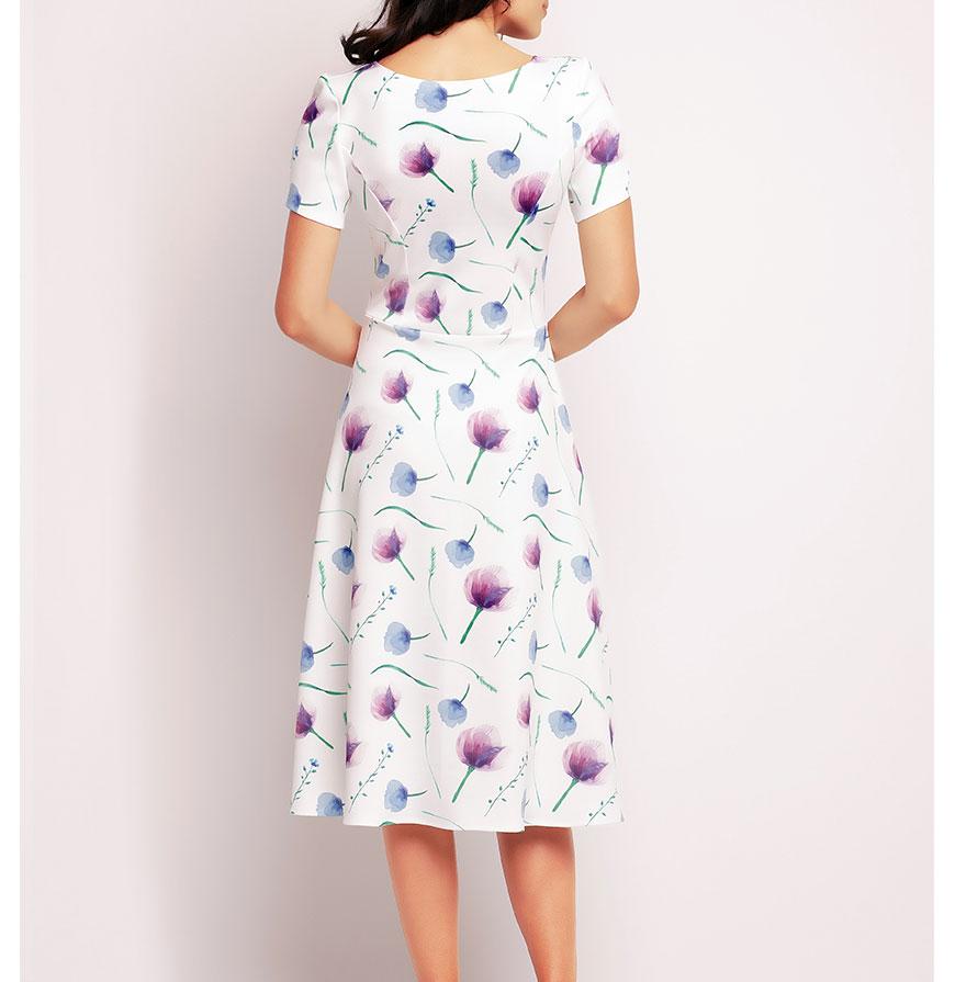 Vestidos Awama® A144 | Violeta