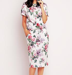 Vestidos Awama® A145 | Rosa