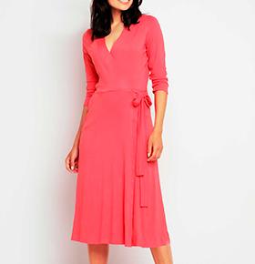 Vestidos Awama® A147 | Coral