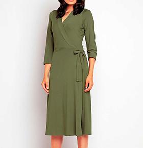 Vestidos Awama® A147 | Verde