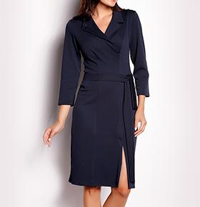 Vestidos Awama® A151 | Azul Marinho