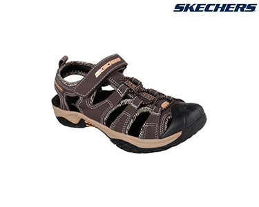 Sandálias Skechers® for Kids   Plexo Castanho