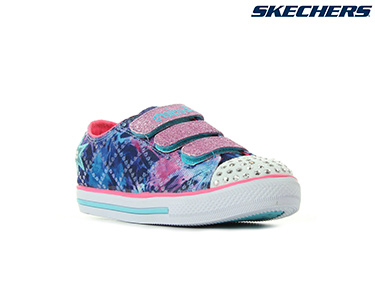 Ténis Skechers® for Kids   Twinkle Enchantes Azul