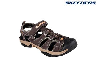 Ténis Skechers® Junior | Plexo Castanho