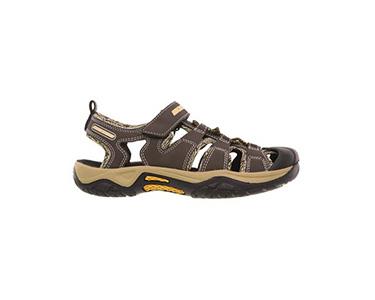 Sandálias Skechers® Junior | Plexo Castanho