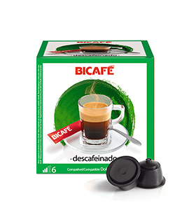 192 Cápsulas Bicafé® compatívies c/  Dolce Gusto® | Descafeinado