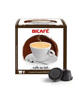 192 Cápsulas Bicafé® compatívies c/  Dolce Gusto® | Cafe com Leite