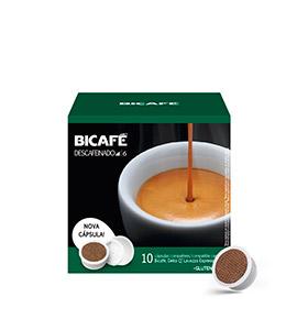 120 Cápsulas Bicafé® compatívies c/  Delta Q® | Descafeinado