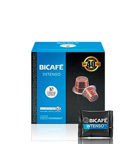 160 Cápsulas Bicafé® compatívies c/  Nespresso® | Intenso