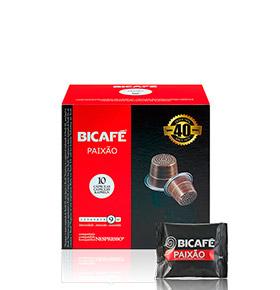 160 Cápsulas Bicafé® compatívies c/  Nespresso® | Paixão