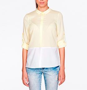 Blusa Ambigante® ABK0077 | Amarelo/ Branco