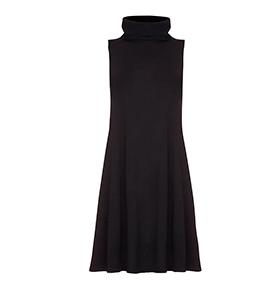 Vestido Yumi® c/ Gola | Preto