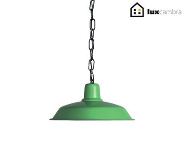 Candeeiro de Tecto Suspenso Oxidado Soho | Verde