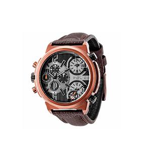 Relógio Police® Phyton | Pele Castanha
